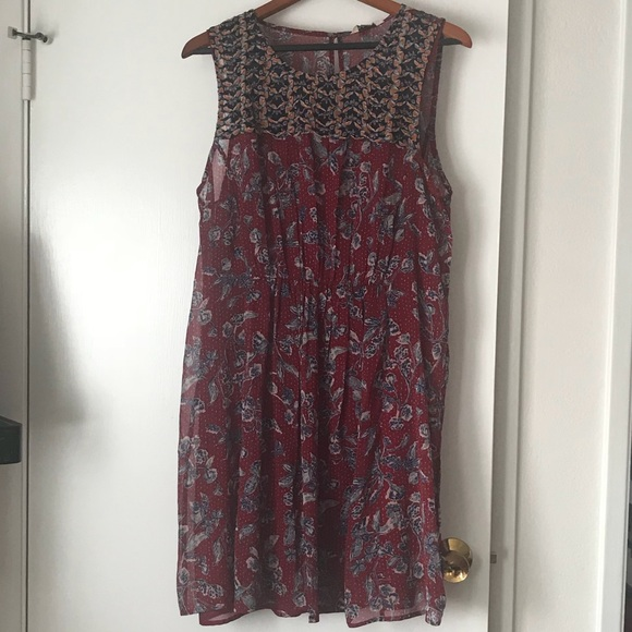 Lucky Brand Dresses & Skirts - Lucky Brand Mixed Floral Dress
